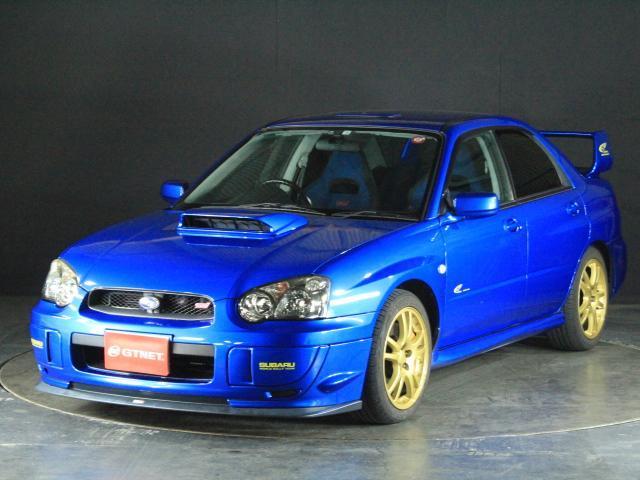 インプレッサ/WRX STi 2003Vリミテッド 限定車 ルーフベンチレーター
