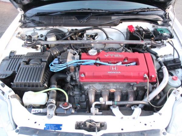 シビックタイプR EK9型 エンジンルーム画像