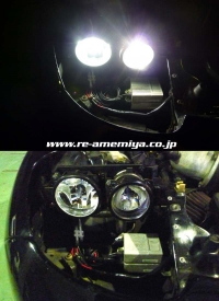 NEW SLEEK Lo/Hi BEAM H11/H7 HID KIT画像