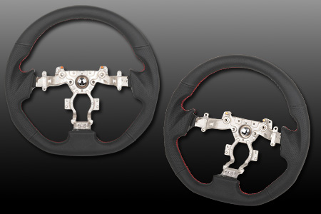 NISSAN GT-R [ R35 専用 ] デュールマン (durement) 製ハンドル/NISSAN GT-R [ R35 ] Durement Steering Wheel